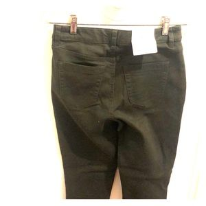 Olive green stretch jeans NWT